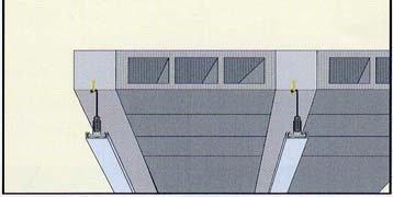 Alçıpan asmolen döşeme tavanı resim