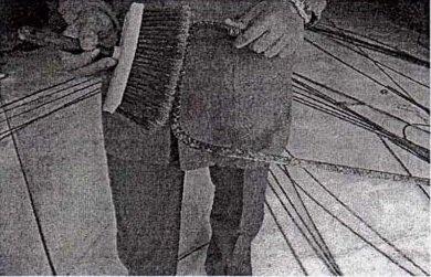 Demiri fırça ile temizleme resim
