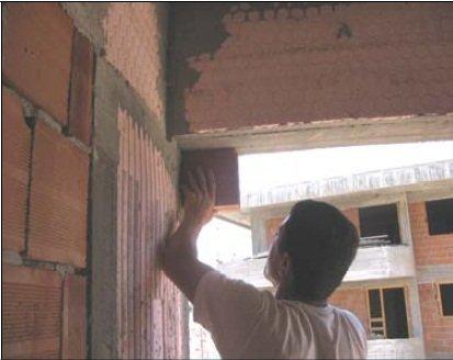 Ruva örme tavan işaretleme resim