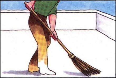 Yalıtım yuzey temizleme resim